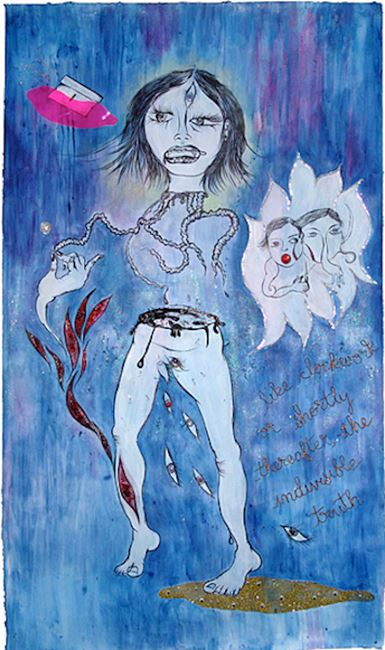 Indivisible Truth by Chitra Ganesh contemporary artwork