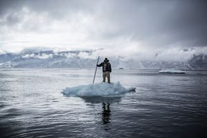 On Thin Ice #0001 by Ciril Jazbec contemporary artwork