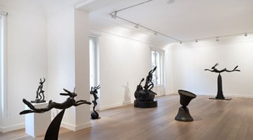 Contemporary art exhibition, Barry Flanagan, Solutions imaginaires at Galerie Lelong & Co. Paris, Paris