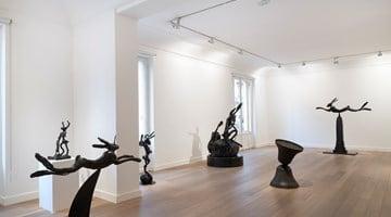 Contemporary art exhibition, Barry Flanagan, Solutions imaginaires at Galerie Lelong & Co. Paris, 13 Rue de Téhéran, Paris