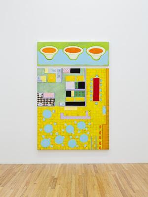 Tomato Bisque - Restaurant Mandala by Kim Dingle contemporary artwork