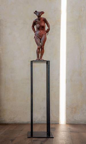 Mujer Roja by Javier Marín contemporary artwork sculpture