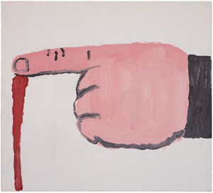 Untitled by Philip Guston contemporary artwork painting
