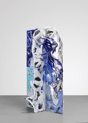 NEPHRITE QUIPU by Donna Huanca contemporary artwork