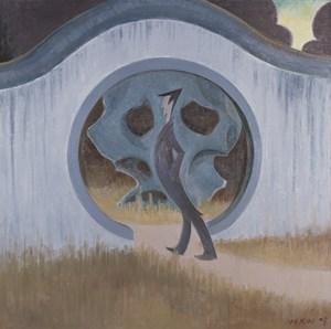 Untitled (moondoor) by Wang Xingwei contemporary artwork