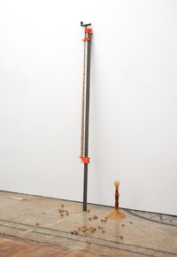Components from 'Year of the Pig Sty', 2007 by Hany Armanious contemporary artwork installation