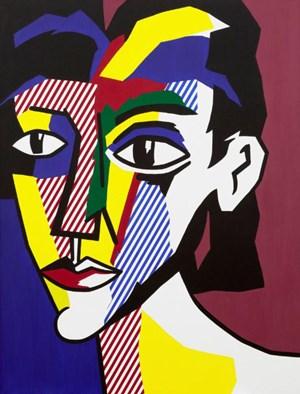 Portrait of a Woman by Roy Lichtenstein contemporary artwork