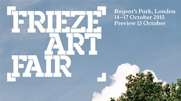 Contemporary art exhibition, Frieze London 2015 at Zeno X Gallery, Antwerp