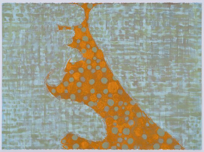 Untitled (L - 62) by Thomas Nozkowski contemporary artwork