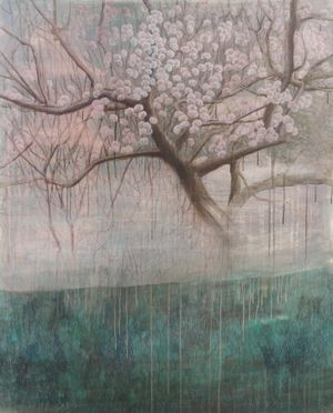 Sway by Sunny Kim contemporary artwork painting