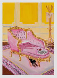 Sex First, Oysters Later by Oh de Laval contemporary artwork painting
