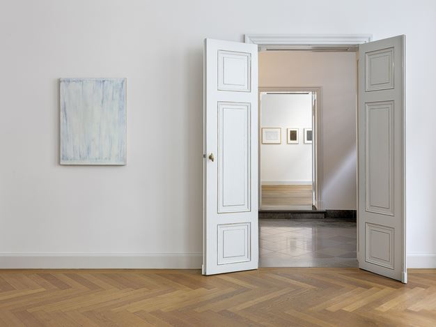 Exhibition view: Raimund Girke,Im Rhythmus,KEWENIG, Berlin (9 September–7 November 2020).© The Estate of Raimund Girke and VG Bild-Kunst, Bonn. Courtesy KEWENIG. Photo: Lepkowski Studios, Berlin.