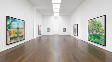 Contemporary art exhibition, María Berrío, Flowered Songs and Broken Currents at Victoria Miro, Wharf Road, London