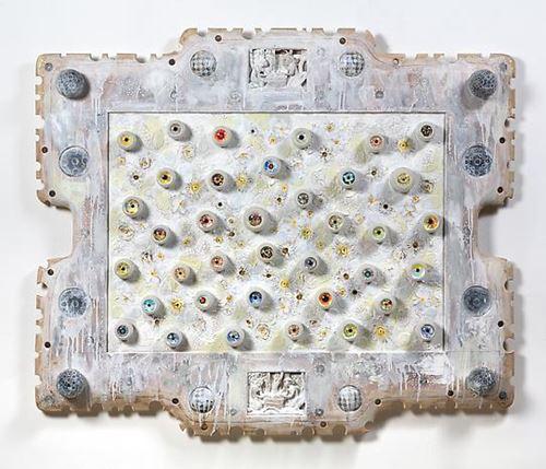 Untitled by Ashley Bickerton contemporary artwork