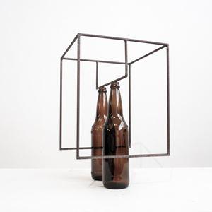 Eu e cidade (to Marcelo) by Raul Mourão contemporary artwork
