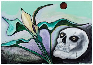 Flowers of Evil, Parson in the Pulpit by David Harrison contemporary artwork