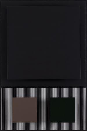 Carre noir by Jesús Rafael Soto contemporary artwork