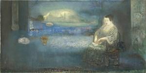 Behind the Blue / Au fond du bleu by Leng Hong contemporary artwork