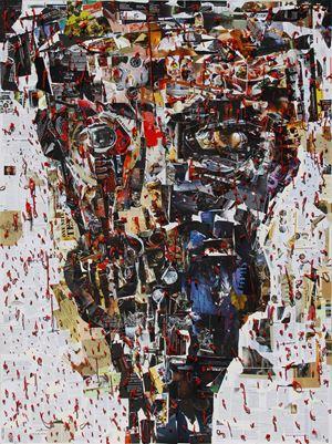 Manusia Mesin/Machine Man by Gatot Pujiarto contemporary artwork