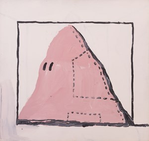 Untitled (Hood) by Philip Guston contemporary artwork