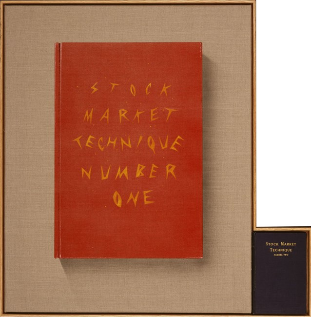 Stock Market Technique, Numbers 1 & 2 by Ed Ruscha contemporary artwork