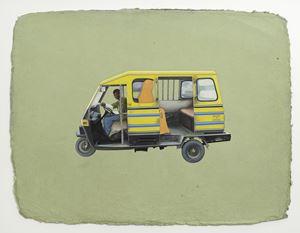 Udaipur Tonga by Desmond Lazaro contemporary artwork