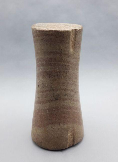 Bactrian 'pillar' or 'column' idol by Melanesia contemporary artwork