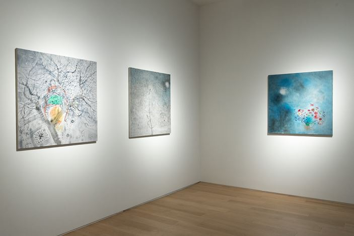Exhibition view: Shen Ling, Intensity of Concreteness 浮游, Tang Contemporary Art, Hong Kong (4 January–9 February 2019). Courtesy Tang Contemporary Art.