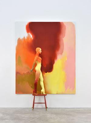 Backdrop by Allen Jones contemporary artwork