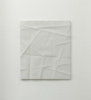 Faltenguss No. 2/18 by Beat Zoderer contemporary artwork