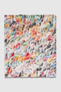 the harsh blankets by Dashiell Manley contemporary artwork painting, works on paper