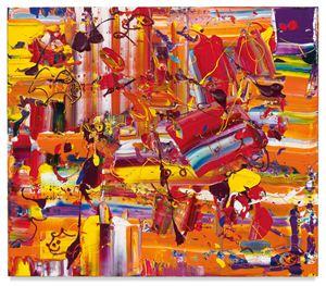Orange Slurp by Michael Reafsnyder contemporary artwork