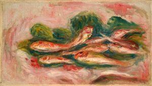 Les poissons by Pierre-Auguste Renoir contemporary artwork