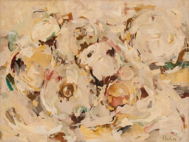 Grapefruits I by Audrey Flack contemporary artwork