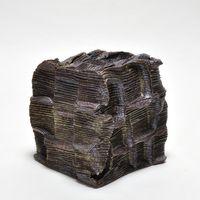 Box stoneware by Sebastian Scheid contemporary artwork sculpture