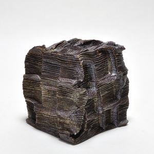 Box stoneware by Sebastian Scheid contemporary artwork