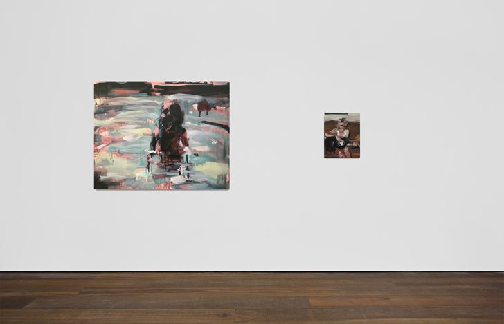 Exhibition view: Group exhibition, Come Together, Workplace, UK (18 February–20 March 2021). Courtesy Workplace.