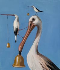 Ting a ling by Joanna Braithwaite contemporary artwork painting