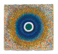 Radiance, Blue Circle by Richard Pousette-Dart contemporary artwork works on paper