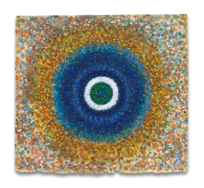 Radiance, Blue Circle by Richard Pousette-Dart contemporary artwork