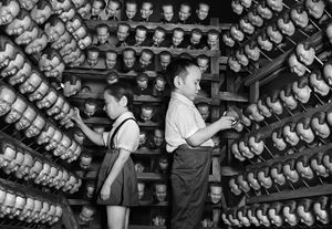 Puppet Archive - Doll Factory by Zhang Wei contemporary artwork