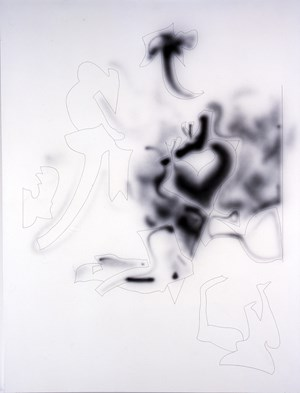 Organic Model (intuitive reason) by Howard Arkley contemporary artwork