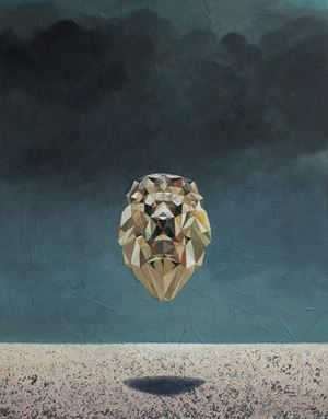 Looking for Lions by Gayan Prageeth contemporary artwork