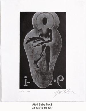 Atoll Babe No.1 by Ashley Bickerton contemporary artwork