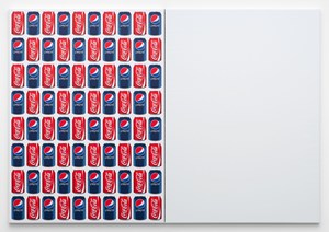 Coke/Pepsi/ (80 Cans) by Jonathan Horowitz contemporary artwork