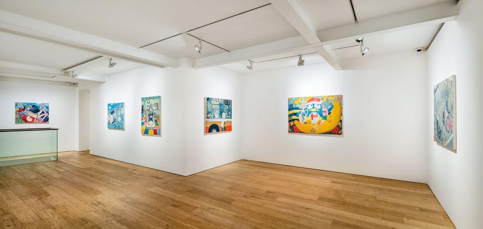 Exhibition view:Aya Takano, Let's make the universe a better place, Perrotin, Seoul (18 September–23 October 2020). © 2020 Aya Takano/Kaikai Kiki Co., Ltd. All Rights Reserved. Courtesy Perrotin. Photo: Hyunjun Lee.