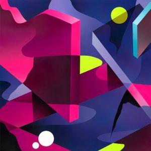 NIGHT WALK #2 by Mikael B contemporary artwork
