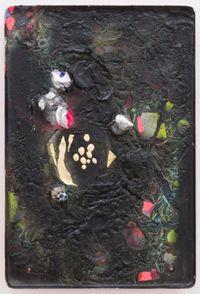 time traveller by Miranda Parkes contemporary artwork painting, mixed media