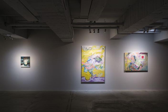 Jhong Jiang-Ze, Butterfly (2020). Acrylic on canvas, 145.5 x 112 cm. Courtesy Mind Set Art Center.