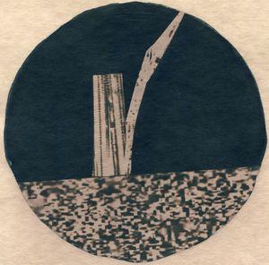 Sticks 1 by Corinne De San Jose contemporary artwork